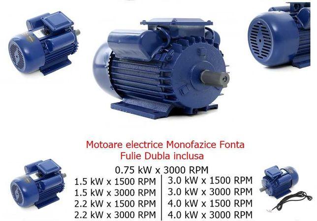 Gama Motoare Electrice 0.75Kw 1.5Kw 2.2Kw 3Kw 4kw Bobinaj Cupru