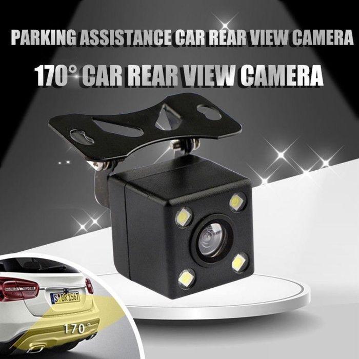 Паркинг камера за задно виждане заден ход с 4 лед светлини 170°CCD HD