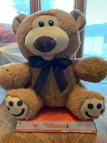 Jucarie originala Ubisoft The Division 2 Teddy Bear urs plus mare nou
