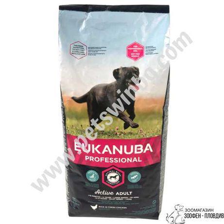 Eukanuba Adult Large Breeds 18кг - Храна за големи Кучета над 1 година