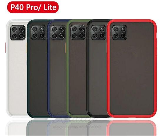 Цветен Кейс Rock за Huawei P40 Lite / P40 Pro - Супер Защита