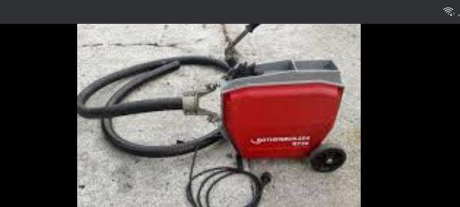 Mașina electrica  rothenberg  R750  desfundat  canalizări  scurgeri