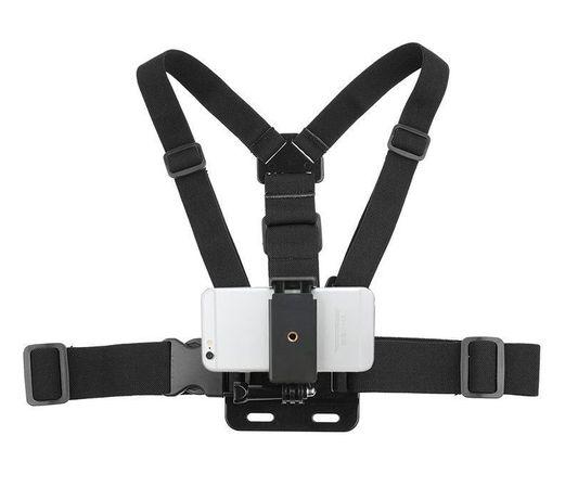 Универсална стойка за гърди garv™ dual pro за телефони и камери