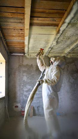 Izolatii profesionale spuma poliuretanica poduri si mansarde