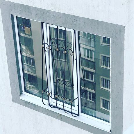 Решётки на окна в Алматы. Не дорогие решётки. Детские решётки