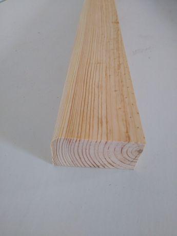 Lati uscati pentru tigla/plinta R6, din pin, la lungime de 3 metri