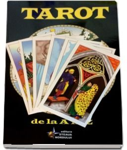Manual complex pt Tarot+Set Carti tarot Rider Waite in lb romana-siglt