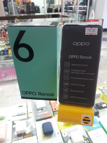 Oppo Reno 6 6-128 Новый!!!210000!!!