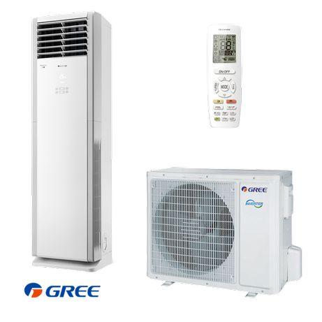 Инверторен колонен климатик Gree GVH24AL / K3DNC7A-отстъпка 10%