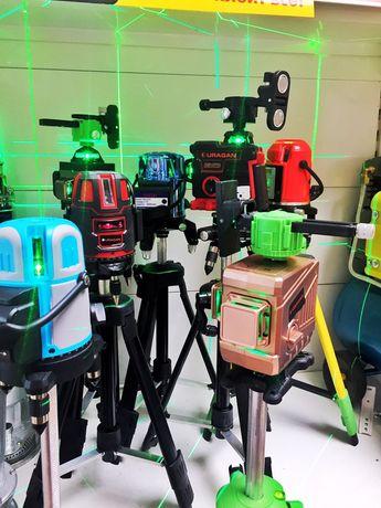 Лазерный уровень нивелир 3д, 4д 5луч Рассрочка Бесплатная Доставка