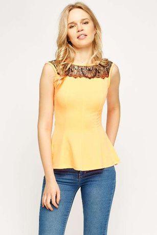 bluza dama neon orange