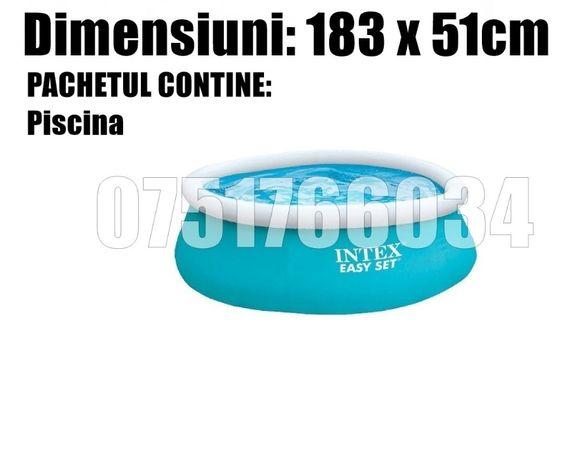 Piscina intex Gonflabila Familie Copii Relaxare Rotunda 183 x 51cm
