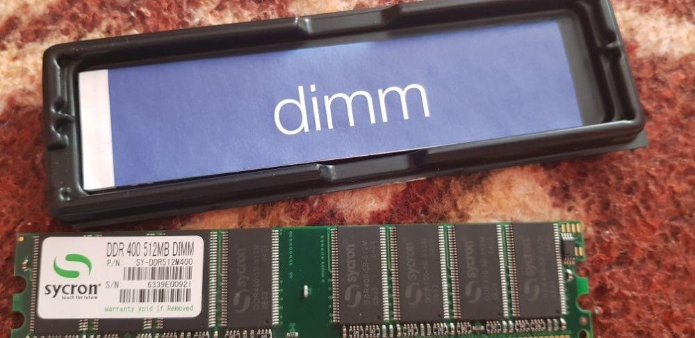 Memorie RAM DDR 400, 512MB in perfecta stare de funcționare.