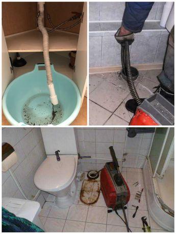 Прочистка канализации в Алматы, чистка труб, прочистка унитаза, срочно