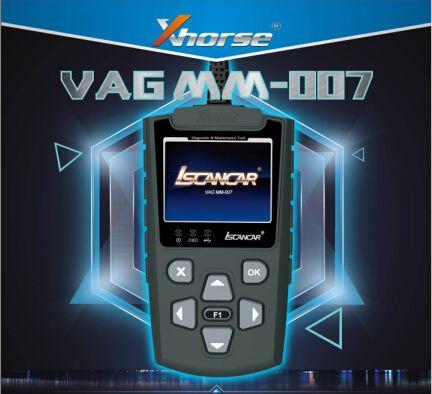 Xhorse Iscancar MM-007 офлайн е нов инструмент за диагностика