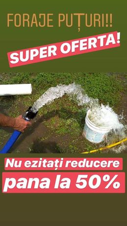 Foraje puturi apa Dolj Cluj Craiova Sibiu bacau braila olt mehedinti