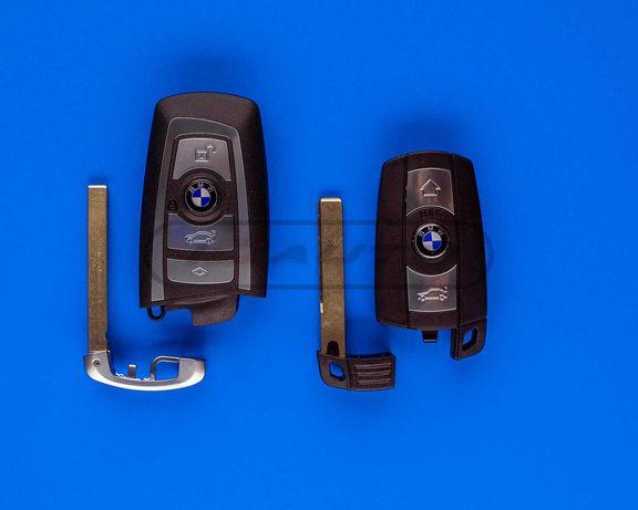 Кутийка ключ с чип за Bmw / бмв / e90 f10 f20 е91 e92 е60 e61 e87