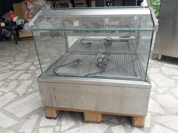 Топла витрина-бен мари 78х65