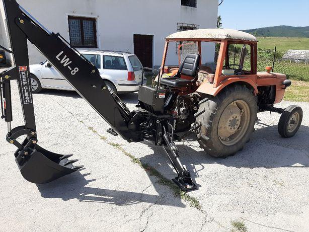 Retroexcavator nou, pentru tractoare agricole