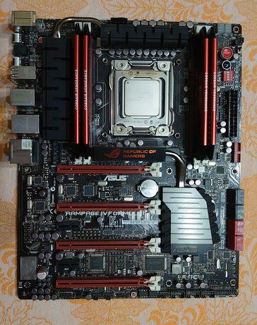 ASUS RAMPAGE IV Formula LGA2011 + Intel Core i7-4930K + 32GB DDR3