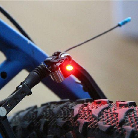 Диоден стоп за велосипед - червена светлина