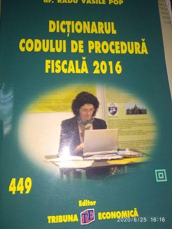 Dictionarul Codului de Procedura Fiscala-2016