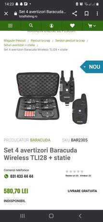 Avertizori/senzori Baracuda cu statie TLI28+ statie
