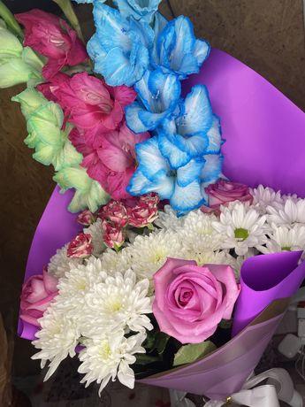 Свежий букет цветов