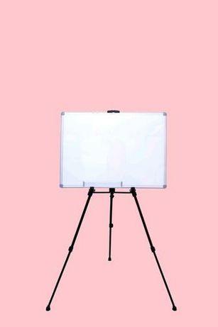 Доска маркерно-магнитная 60×90 см на треноге