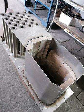 Reparatii cuptoare, incinte ardere, cu table INOX REFRACTARE - 1200*C