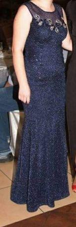 rochie de nașă purtată o singură dată
