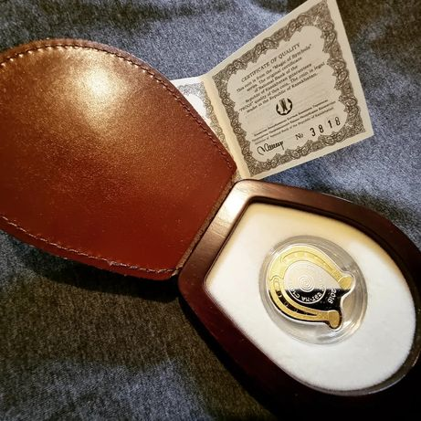 Монета ПОДКОВА  на удачу