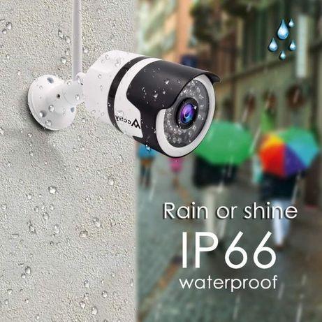 Намал. от80лв-Камера IP камера H.264+ Wifi 5MP IP camera