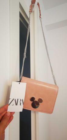 Geanta piele ecologica Mickey - Zara