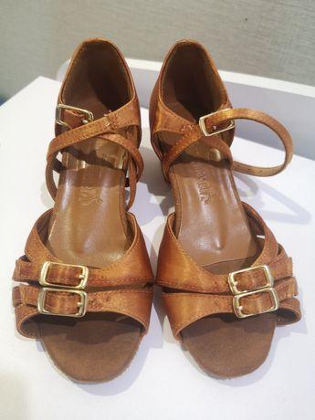Туфли для бальных танцев сатин