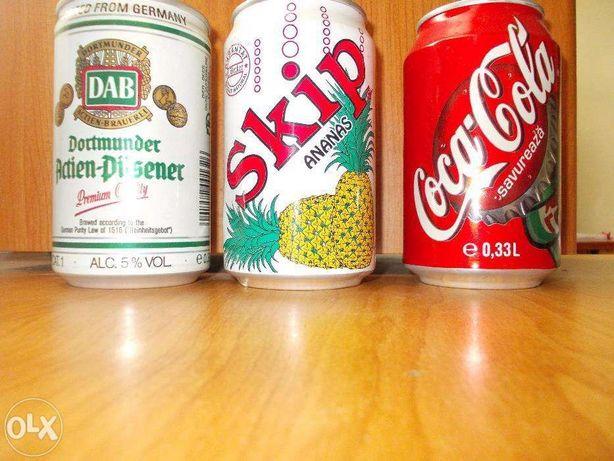 Cutii suc colectie Skip, Fanta ,DAB anii '90 PERONI /Capace Coca-Cola