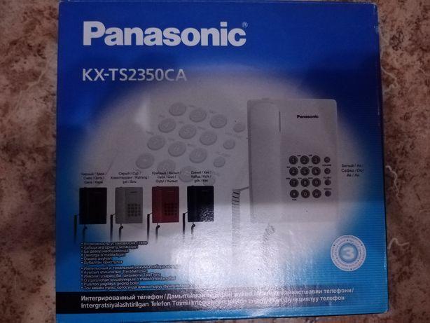 Продам новый телефон Panasonic KX-TS2350CA коробке