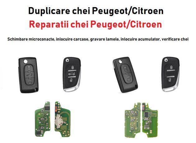 Cheie / Chei Peugeot, Citroen, Renault, Opel - Reparare / Programare