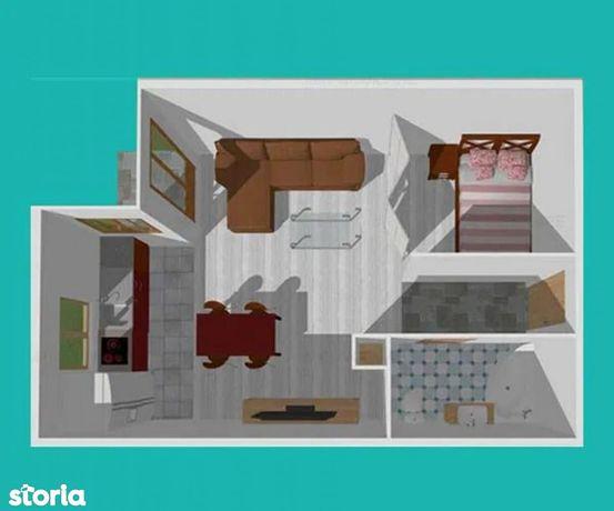 Apartament cu 2 camere de vânzare, Baciu