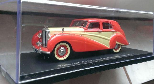 Macheta Bentley MK VI Harold Radford Countryman Saloon 1951 - BOS 1/43