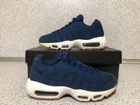 ОРИГИНАЛНИ *** Nike Air Max 95 Leather / Blue Dark Blue