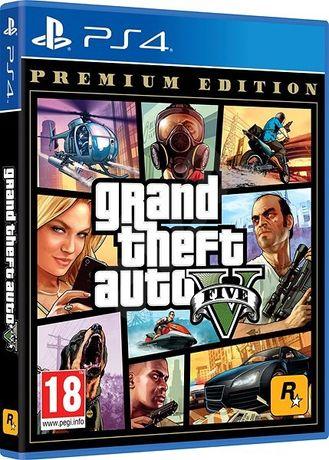 Joc GTA V pt. consola Playstation 4 PS4 Premium Edition nou sigilat