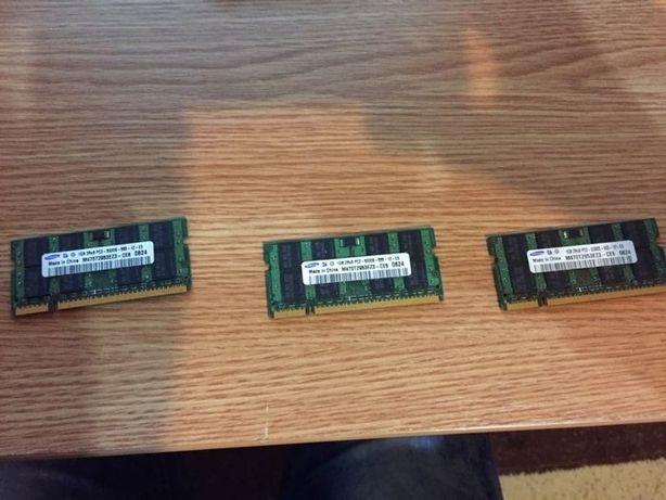 Memorie ram laptop 1gb ddr2
