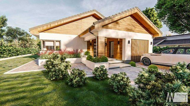Teren de vanzare cu proiect de casa si autorizatie, Livada de Bihor