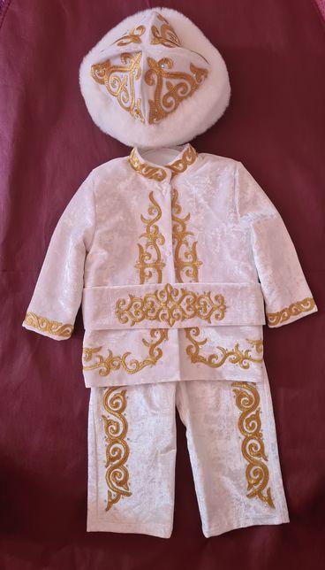 Казахский костюм на мальчика на тусау кесер