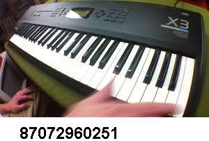 Проф . музыкальная станция синтезатор Korg X3