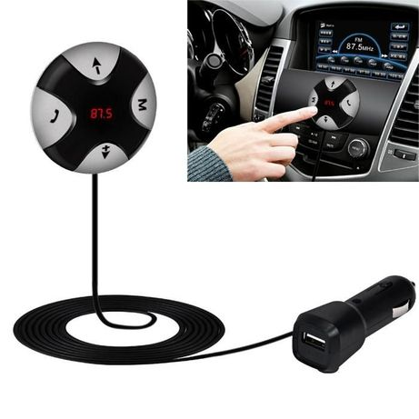 Bluetooth 4.0 receptor FM 3.5mm TF Car Kit MP3 player AUX