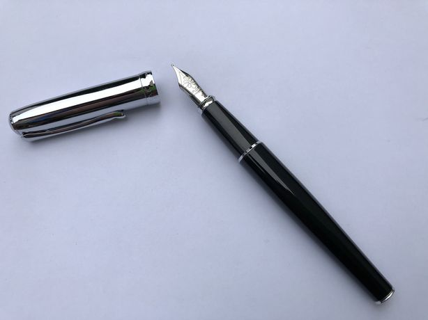Stilou de lux DIPLOMAT  Excellence A - Black Chrome