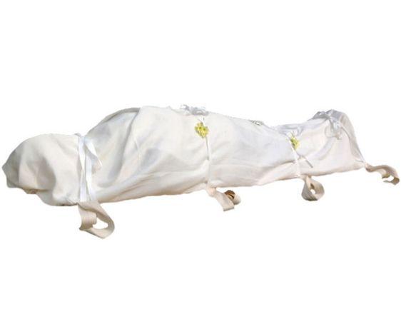 Белая ткань Ак мата Саван