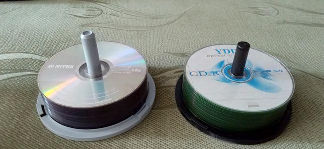 Диски новые CD R,DVD